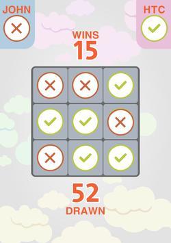 Tic Tac Toe Classic Puzzle Game apk screenshot