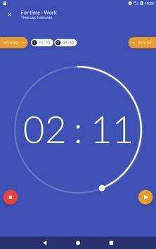 Workout timer : Crossfit WODs & TABATA screenshot 17