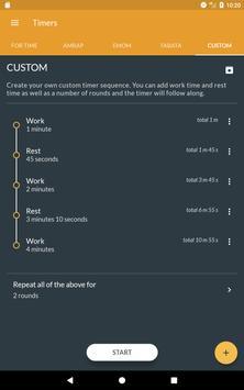 Workout timer : Crossfit WODs & TABATA screenshot 18