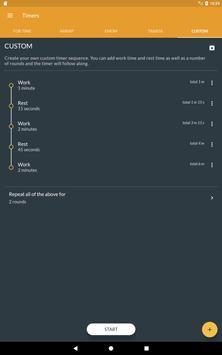 Workout timer : Crossfit WODs & TABATA screenshot 10