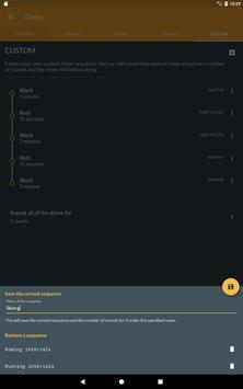 Workout timer : Crossfit WODs & TABATA screenshot 11