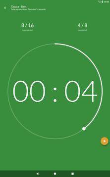 Workout timer : Crossfit WODs & TABATA screenshot 12