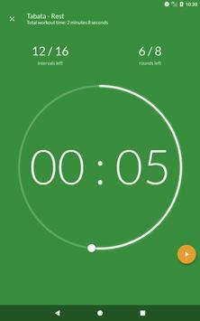 Workout timer : Crossfit WODs & TABATA screenshot 20