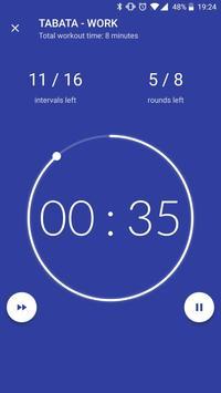 Workout timer : Crossfit WODs & TABATA screenshot 3