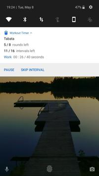 Workout timer : Crossfit WODs & TABATA screenshot 4