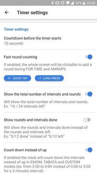 Workout timer : Crossfit WODs & TABATA screenshot 5