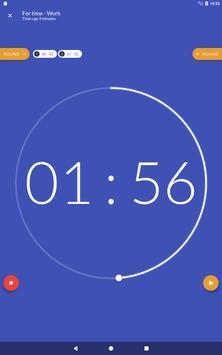 Workout timer : Crossfit WODs & TABATA screenshot 9