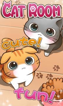 Cat Room - Cute Cat Games 海報