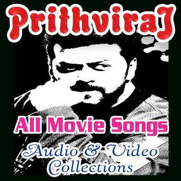 Prithviraj Movie Songs poster
