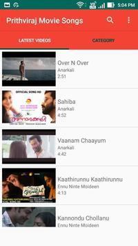 Prithviraj Movie Songs screenshot 2