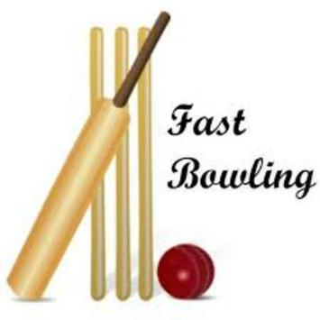 Cricket Coaching Fast Bowling poster