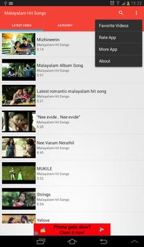 Malayalam Hit Songs apk screenshot