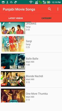 Punjabi Movie Songs apk screenshot