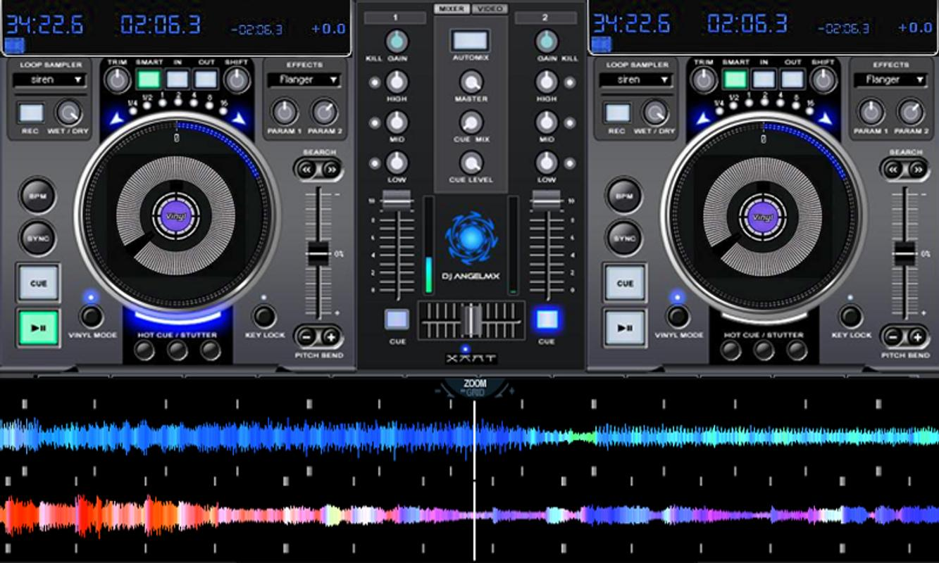 Professional DJ and Audio Mixing Software
