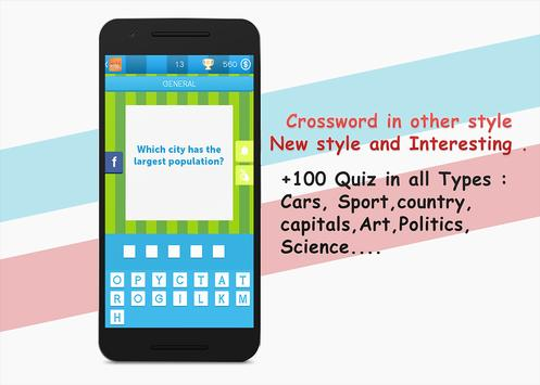Crossword Quiz apk screenshot