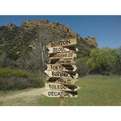 Fingerpost Directional Sign icon