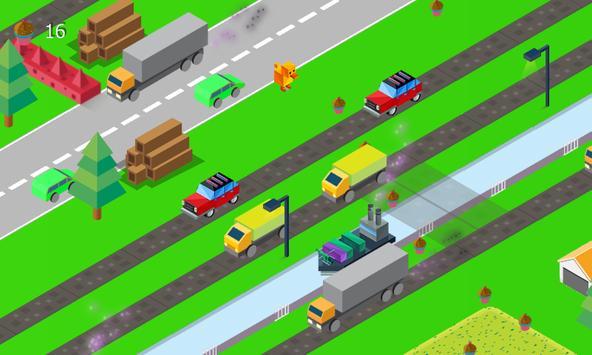 Crossy Dog Road apk screenshot