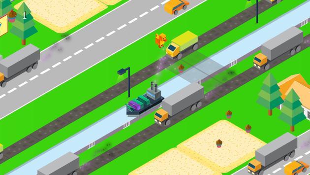 Crossy Animal Run Road 2017 screenshot 3