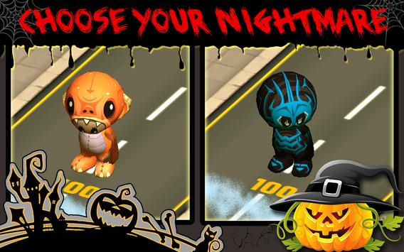 Trick-or-Treat Crossing Road poster