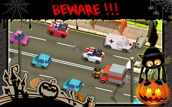 Trick-or-Treat Crossing Road apk screenshot