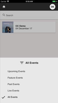 EMEA Events apk screenshot