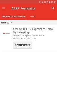 AARP Foundation Events apk screenshot