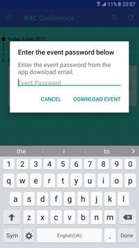 N4C Conference apk screenshot