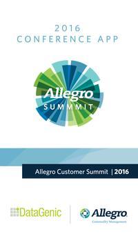 Allegro Summit poster