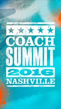 Coach Summit 2016 poster