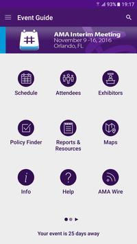 AMA Meetings apk screenshot