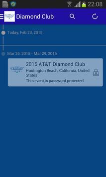 AT&T Diamond Club 2015 screenshot 1