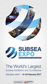Subsea Expo poster