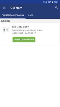 CSI NSM poster