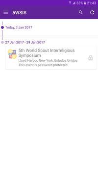 Scout Interreligious Symposium poster
