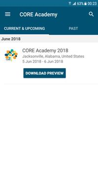 CORE Academy screenshot 1