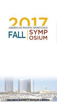 2017 APM Fall Symposium poster