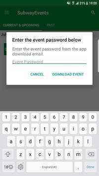 Subway® Events apk screenshot