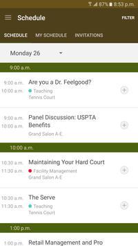 USPTA World Conference apk screenshot