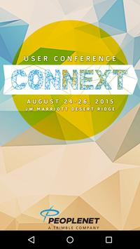 PeopleNet User Conference poster