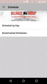 Delhaize Group Events apk screenshot