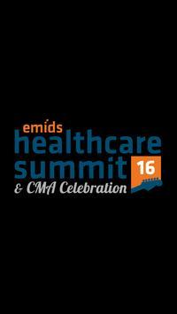 emids CMA Healthcare Summit poster