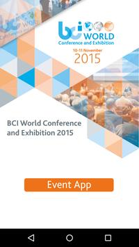 BCI Events poster