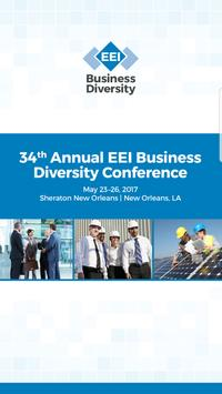 EEI Business Diversity Conf. poster