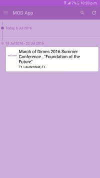 March of Dimes Conference App apk screenshot