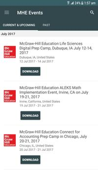 McGraw-Hill Education Events poster