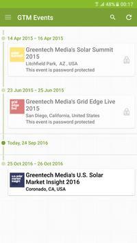 GTM Events apk screenshot