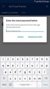 AmTrust Events apk screenshot