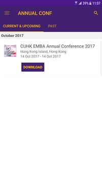 CUHK EMBA Annual Conference poster