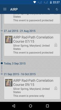 AIRP Rad-Path Correlation App poster