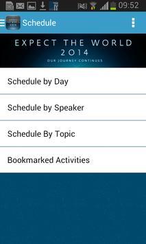 Expect the World 2014 apk screenshot